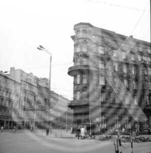 Plättbolzen am Hasselbachplatz 1979