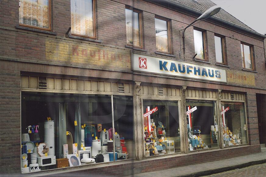 Konsumkaufhaus in Weferlingen September 1990