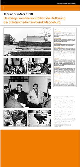 18. Fläche Beginn der Stasi-Auflösung