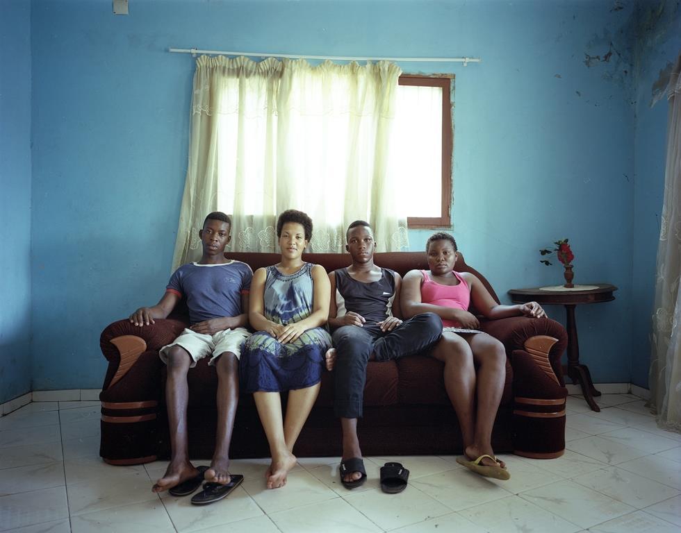 Sarah und Geschwister in Mosambik